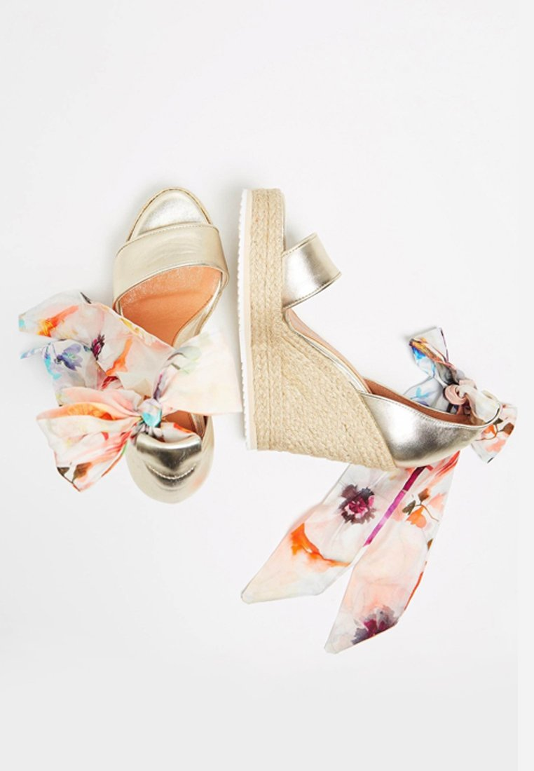 IZIA High Heel Sandalette - gold  High Heels für Damen b3mhw