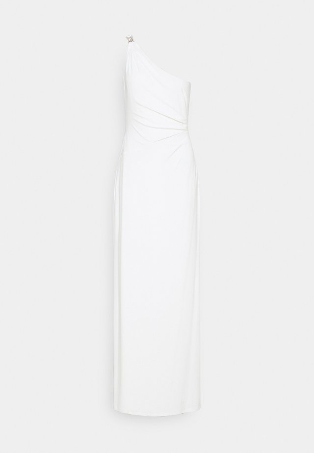 CLASSIC LONG GOWN - Sukienka z dżerseju - cream