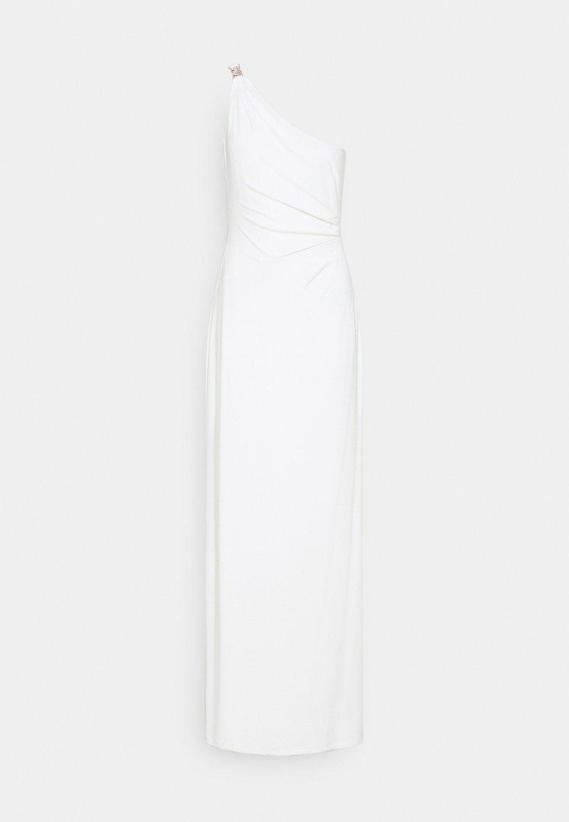 Lauren Ralph Lauren - CLASSIC LONG GOWN - Vestito di maglina - cream
