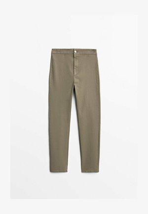 Pantalon classique - ochre