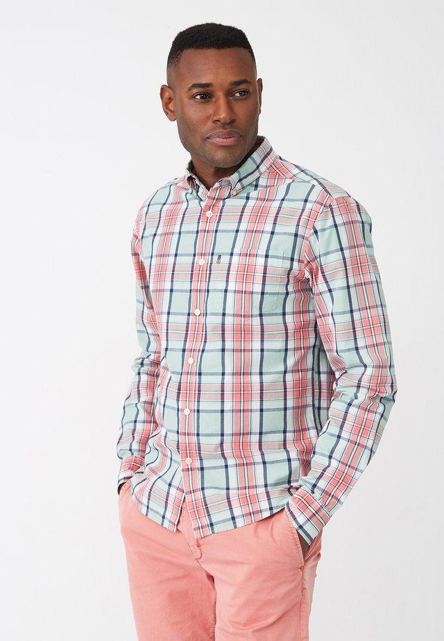 Skjorte - pink multi check