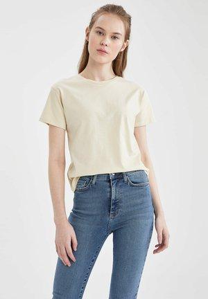 2 PACK - Camiseta estampada - brown