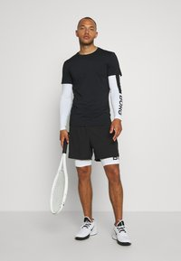 Björn Borg - ABER TEE - Sports shirt - black beauty - 1