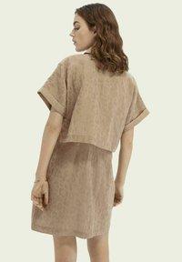 Scotch & Soda - Shirt dress - oat - 2