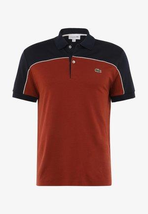MANCHES COURTES HOMME - DH4374 - Polo shirt - brown