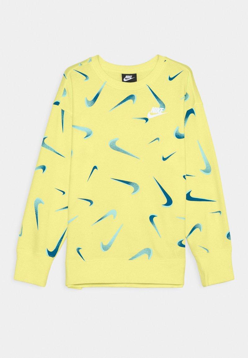 Nike Sportswear - CREW - Sudadera - light zitron/white