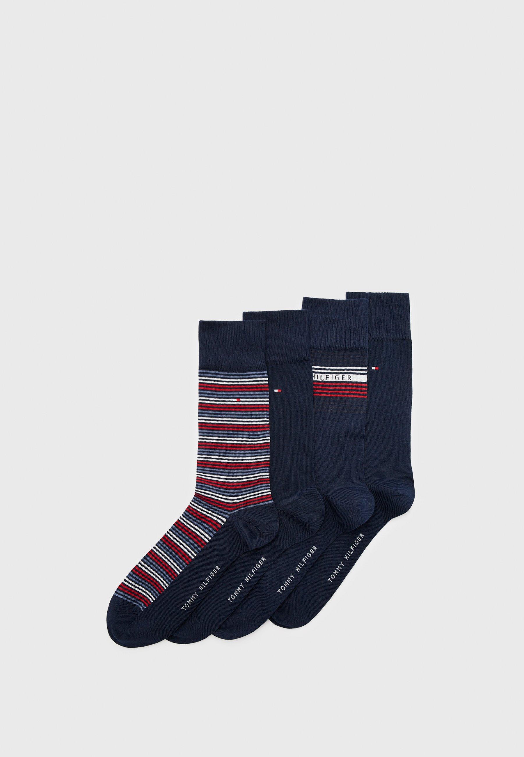 Men GIFTBOX STRIPE 4 PACK - Socks