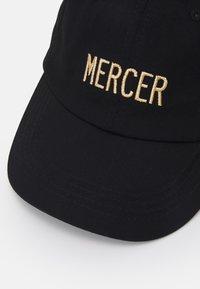 Mercer Amsterdam - MERCER DAD CAP UNISEX - Kšiltovka - black - 3