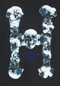 HUF - SKULLS CLASSIC TEE - Print T-shirt - black - 2