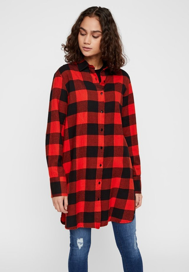 Camisa - fiery red