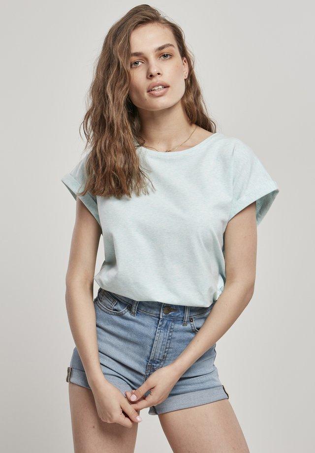 T-shirt basique - aqua melange