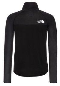 The North Face - BOY'S REACTOR 1/4 ZIP - Sportshirt - black - 1