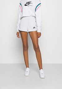 Nike Sportswear - Sports shorts - birch heather/black - 0