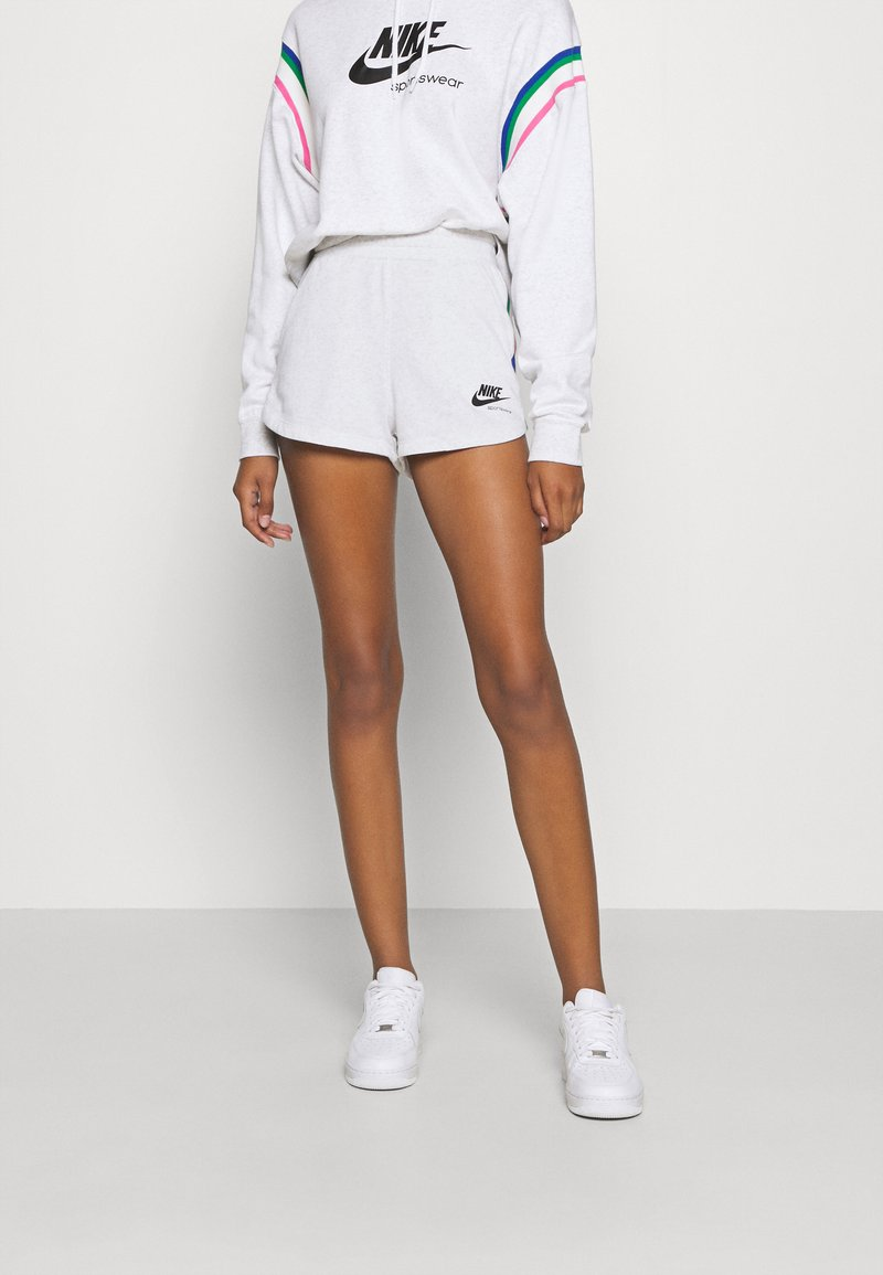 Nike Sportswear - Sports shorts - birch heather/black