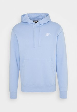 CLUB HOODIE - Sweat à capuche - psychic blue/white