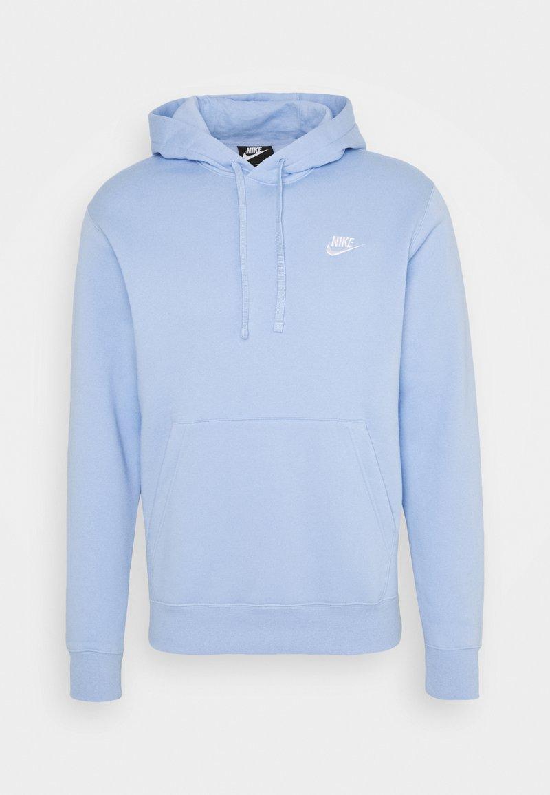 Nike Sportswear - CLUB HOODIE - Hættetrøjer - psychic blue/white
