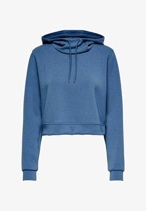 Felpa con cappuccio - bijou blue