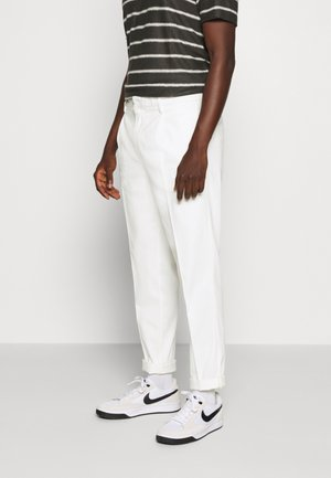 SEASONAL LIGHTWEIGHT BEACH PANT - Trousers - denim white