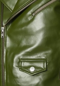 Deadwood - RIVER CACTUS - Faux leather jacket - green - 5