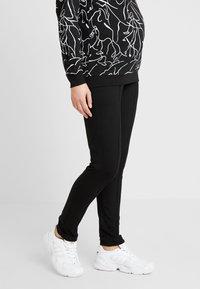 Esprit Maternity - PANTS - Spodnie materiałowe - black - 0