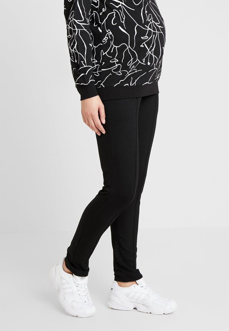 Esprit Maternity - PANTS - Spodnie materiałowe - black