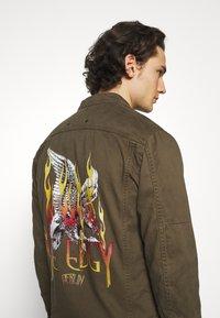 Be Edgy - FORREST - Denim jacket - khaki - 3