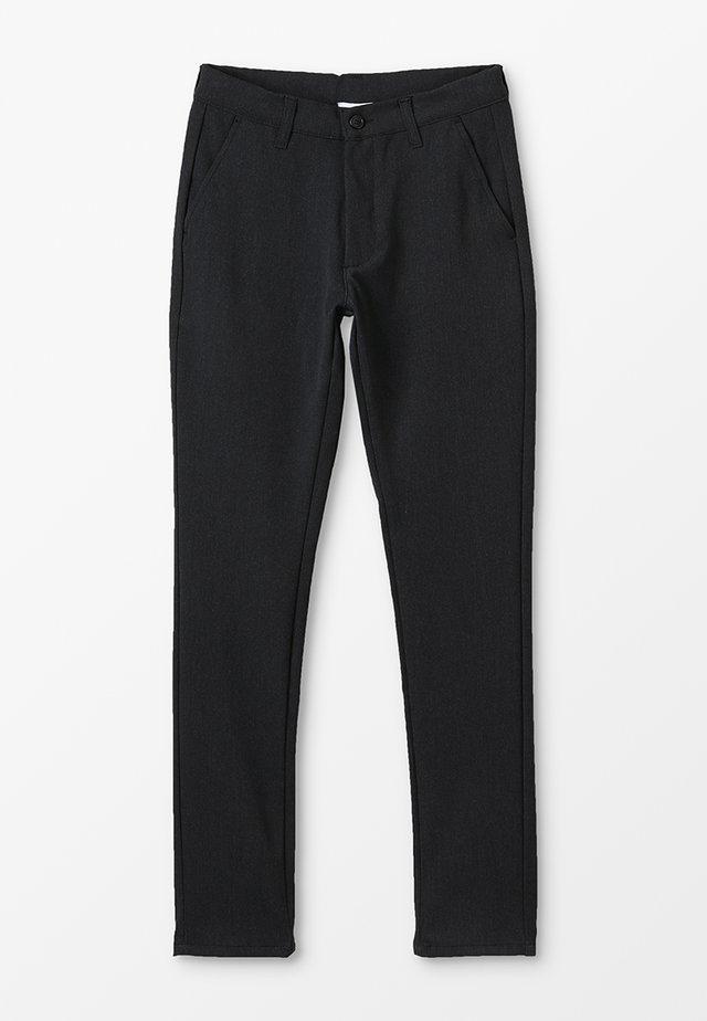 DUDE - Chino kalhoty - grey