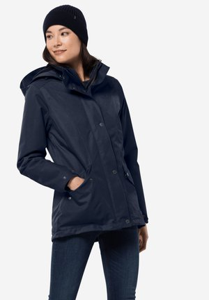 Winter jacket - midnight blue