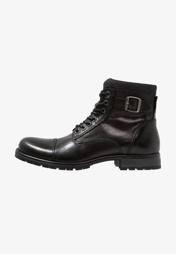 JFWALBANY - Lace-up ankle boots - anthracite