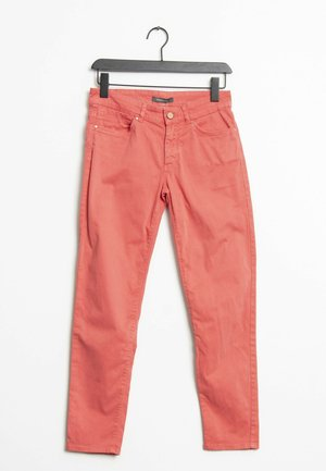 Jeansy Relaxed Fit - red