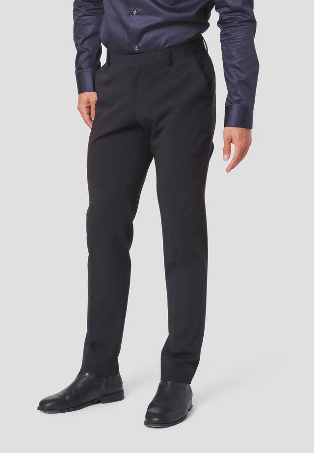Jakkesæt bukser - black