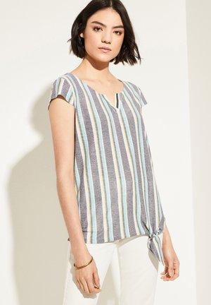Blouse - black colour stripes