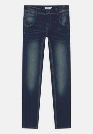NKMSILAS  - Slim fit jeans - dark blue denim