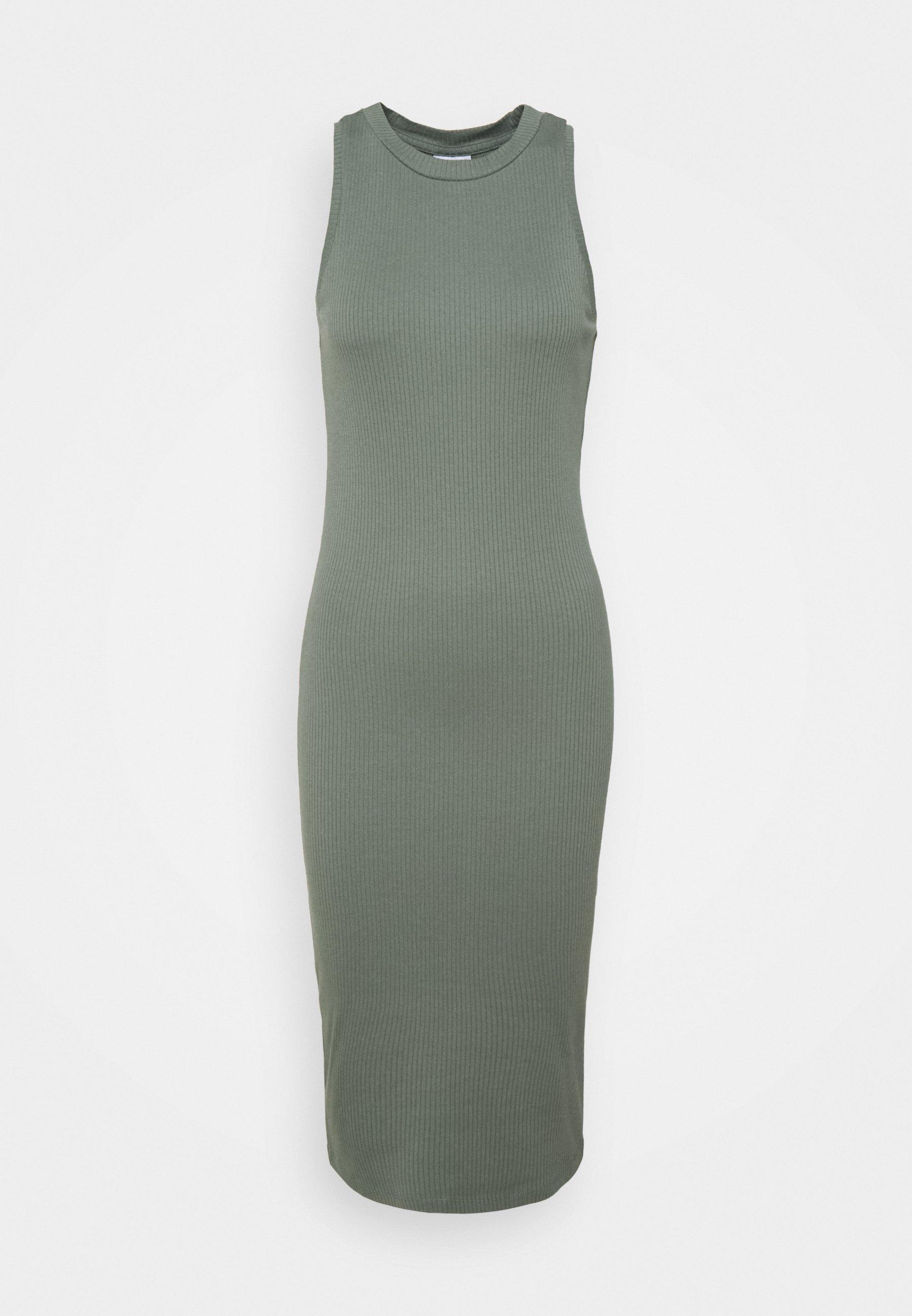 Women VMLAVENDER CALF DRESS - Jumper dress