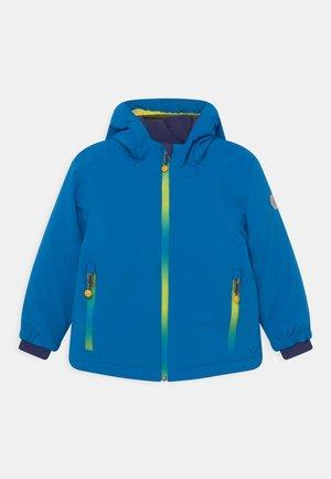 LOVY UNISEX - Winter jacket - blue/neon green