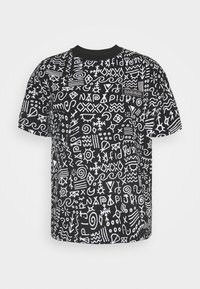 Napapijri The Tribe - NOAIDE UNISEX - Print T-shirt - black - 4