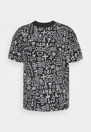 NOAIDE UNISEX - Print T-shirt - black