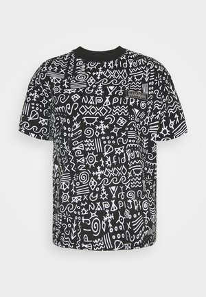 NOAIDE UNISEX - T-shirts print - black