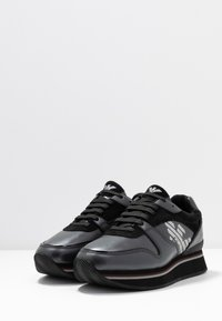 Emporio Armani - CHRISTINA - Trainers - black - 4