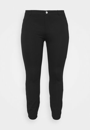 5 pockets PUNTO trousers - Kangashousut - black