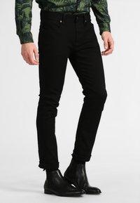 Selected Homme - SHSLIM LEON  - Džíny Slim Fit - black - 0