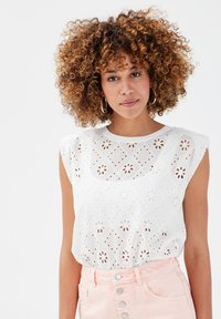Cache Cache - T-shirt print - white - 0