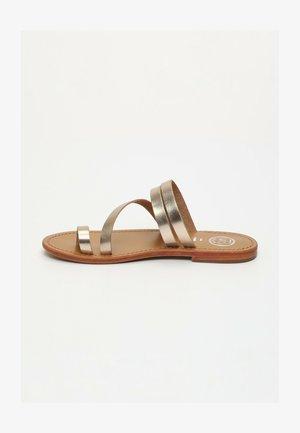 VIAGEM  - T-bar sandals - rose gold