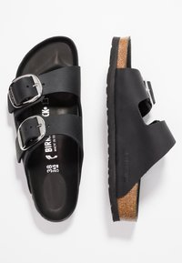 Birkenstock - ARIZONA BIG BUCKLE - Mules - black - 3