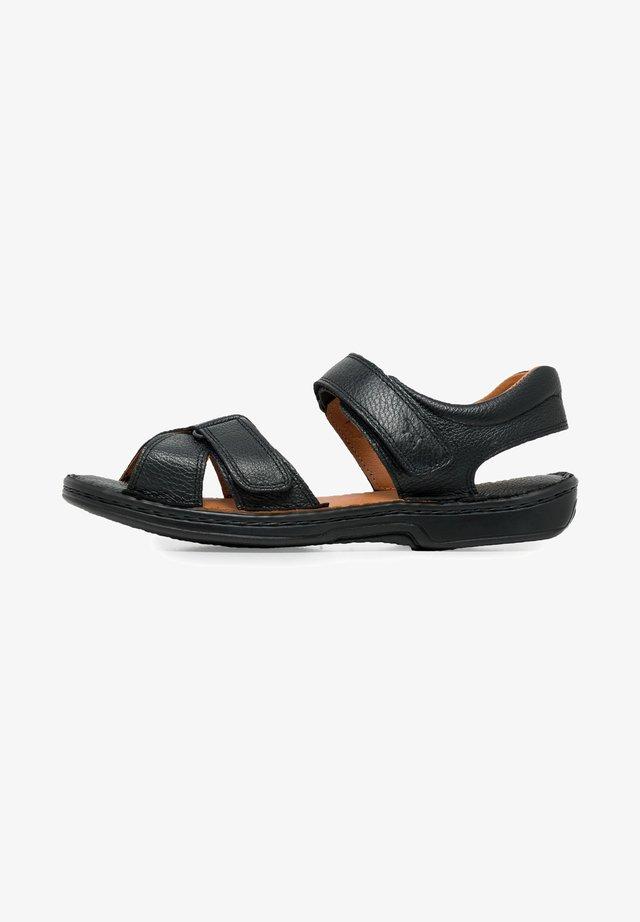 TALON - Sandales de randonnée - black, black