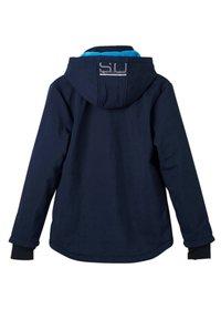 s.Oliver - MIT KAPUZE - Light jacket - dark blue - 1