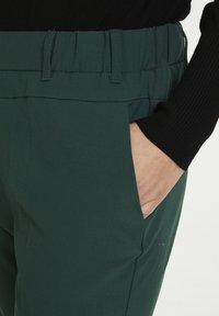 Kaffe - NANCI JILLIAN - Trousers - dark green - 3