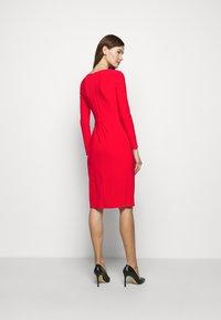 Lauren Ralph Lauren - CLASSIC DRESS - Jersey dress - lipstick red - 2