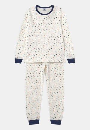 TRY SET UNISEX - Pyjama set - marshmallow/multi-coloured