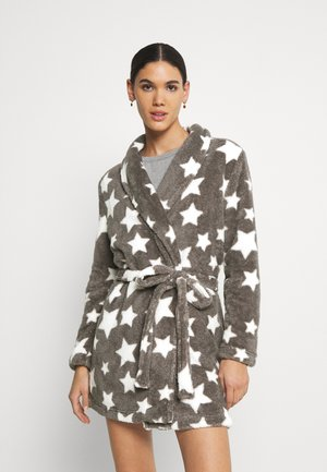 ONLCLEO ROBE - Župan - light grey melange
